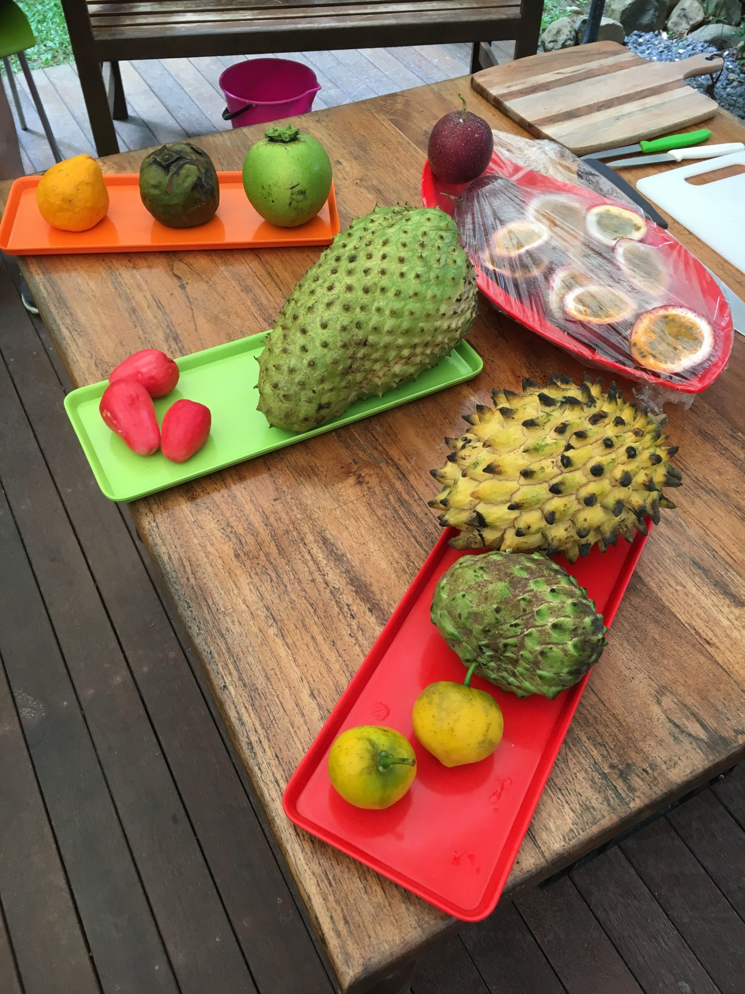 trying exotic fruits living expat life in Australia
