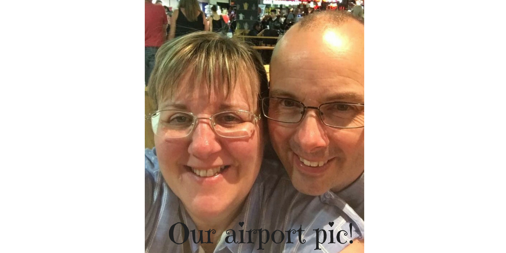 tracy and doug's airport pic