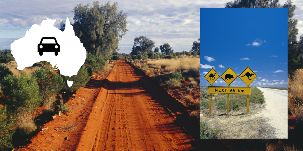 101 Things to Know When Visiting Australia featured by top international travel blogger, Tracy's Travels in Time: driving in Australia