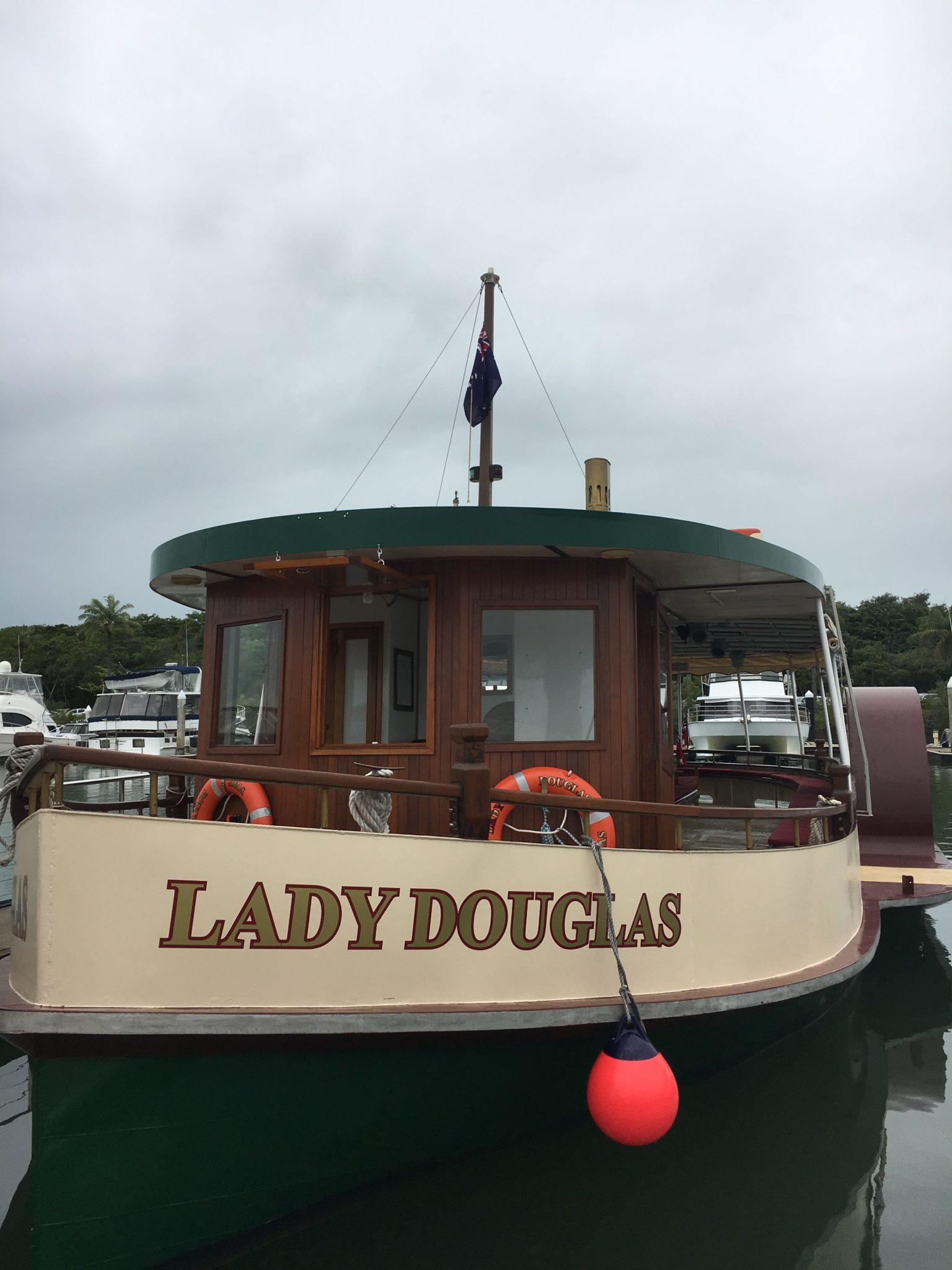 Lady Douglas boat trip