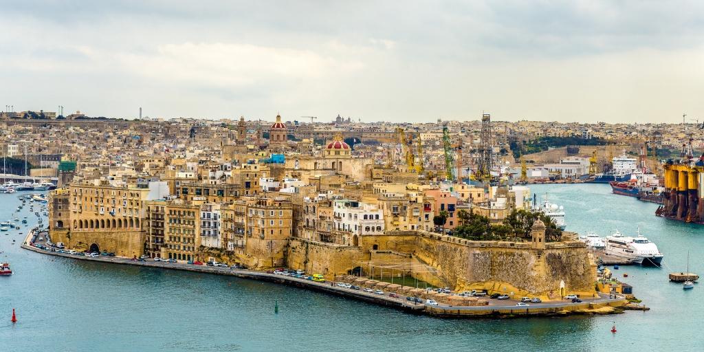 Senglea one of the Three Cities in Malta