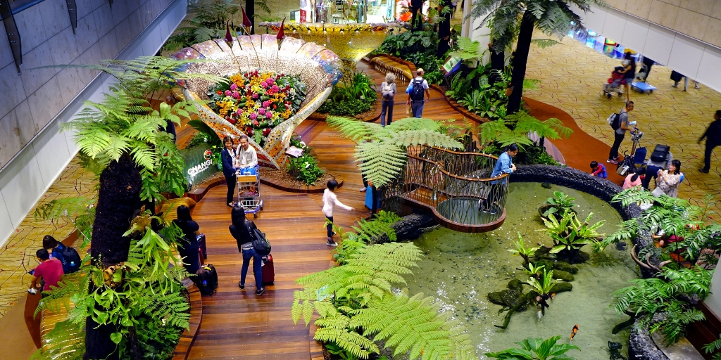 Changi Airport - Singapore film locations