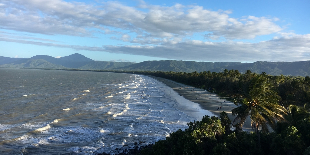 View from Flagstaff Hill over Port Douglas