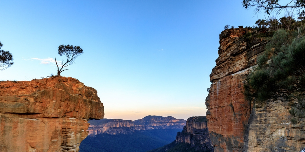 Unesco world heritage sites in Australia - the Blue Mountains