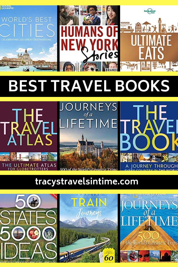 Best Travel Books | Tracy's Travels in Time | the Best Travel Books to Inspire Wanderlust featured by top international travel blogger, Tracy's Travels in Time