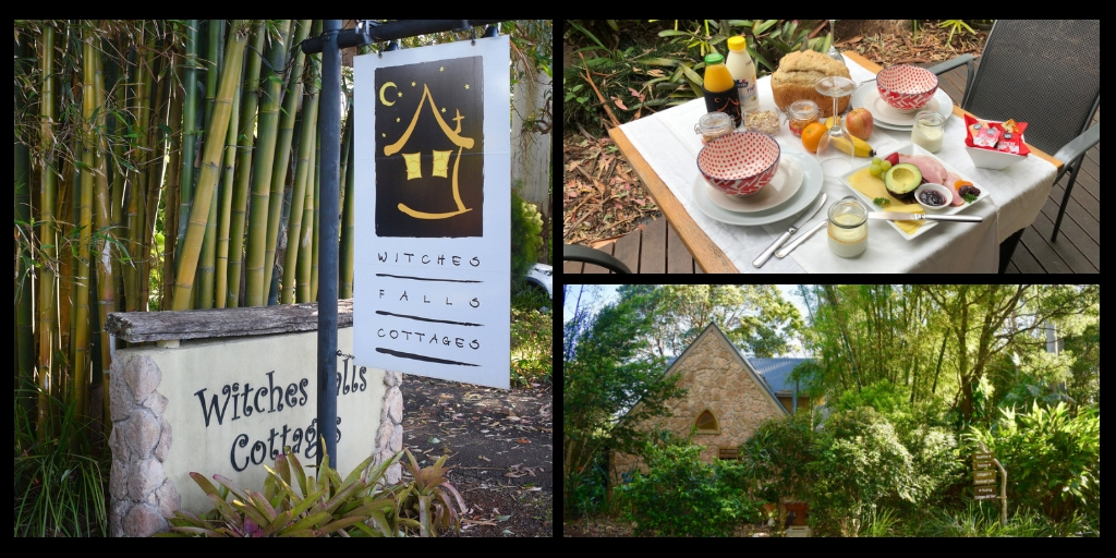 WITCHES FALLS COTTAGES | Tamborine mountain travel guide featured by top international travel blogger, Tracy's Travels in Time