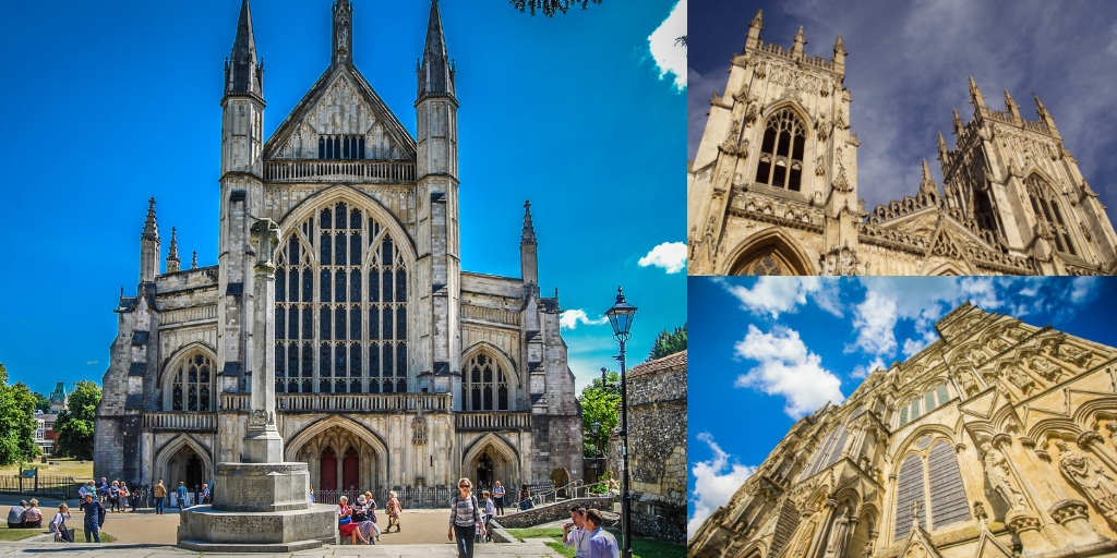 Winchester Cathedral in England