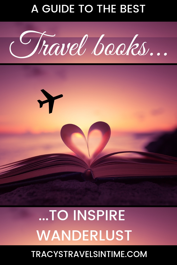 The best travel books featured by top international travel blogger, Tracy's Travels in Time:
