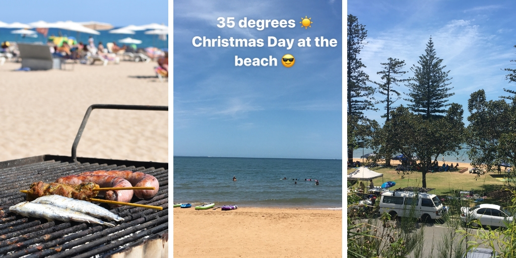 BBq and the beach in Australia