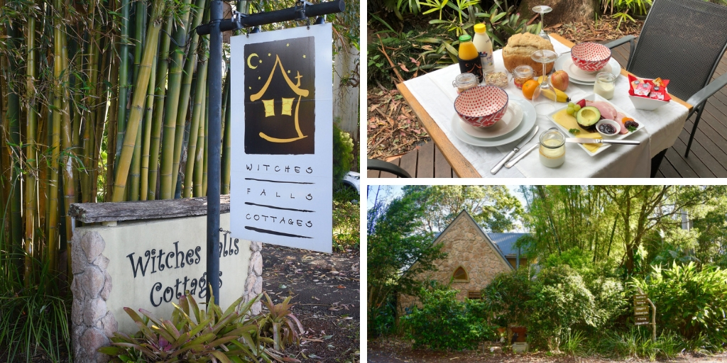 | Witches Falls Cottages review featured by top international travel blogger, Tracy's Travels in Time