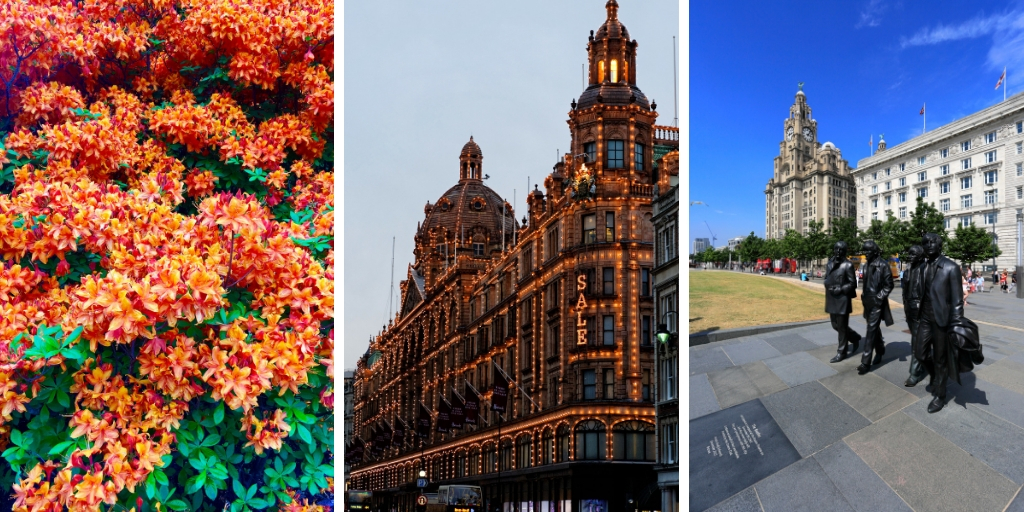 Kew, Harrods and the Beatles