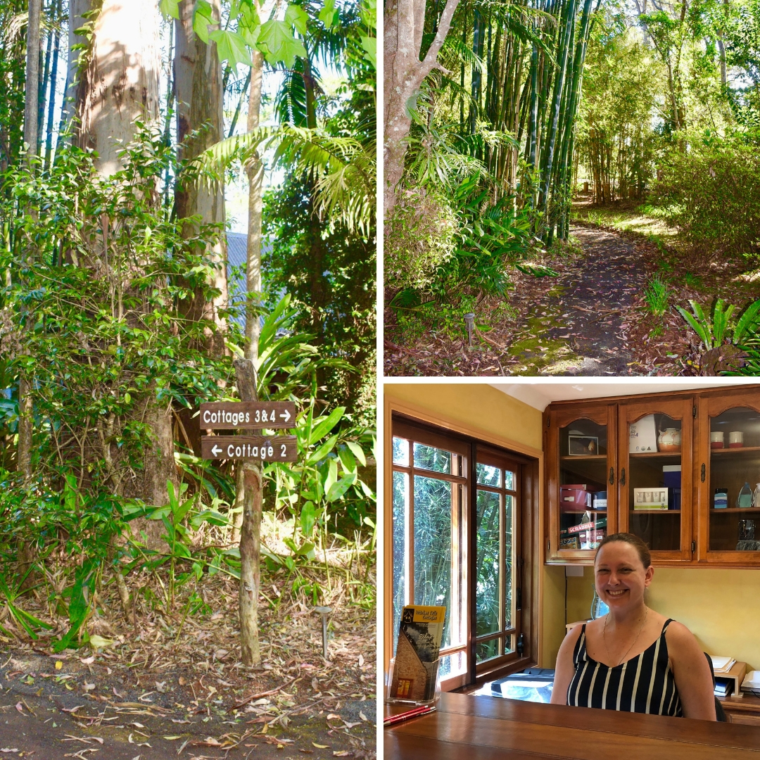 Witches Falls Cottages | Tamborine Mountain | Witches Falls Cottages review featured by top international travel blogger, Tracy's Travels in Time