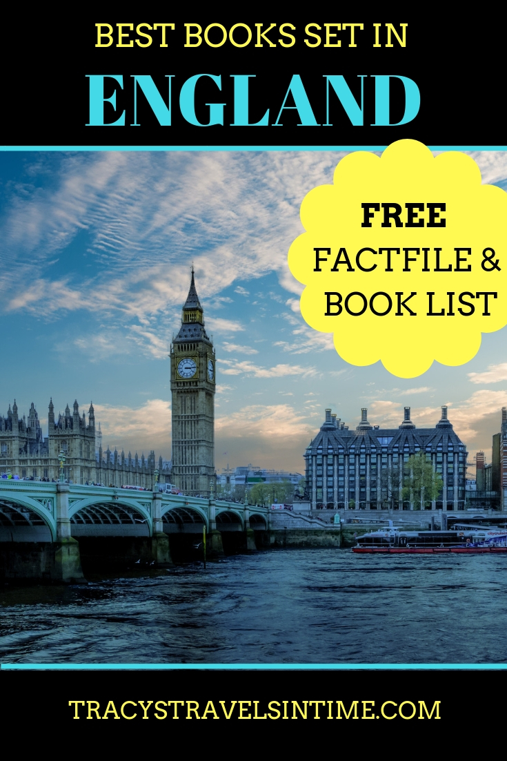 Best books about England featured by top international travel blogger, Tracy's Travels in Time