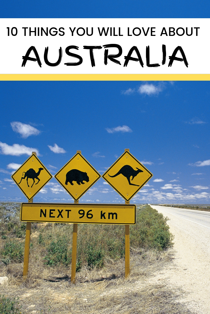 10 things you will love about Australia