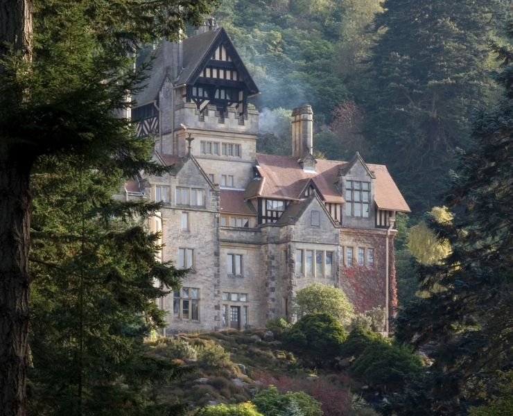 Cragside House in Northumberland