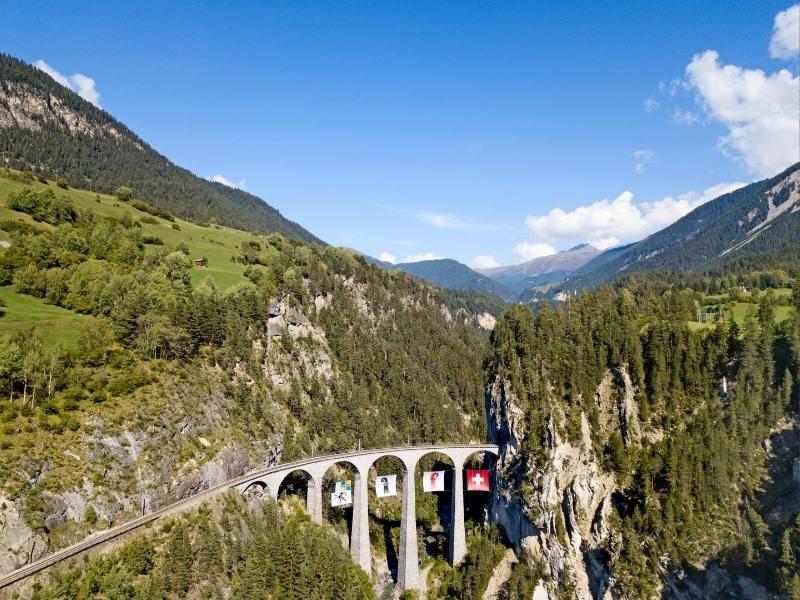 The Lanwassur Viaduct