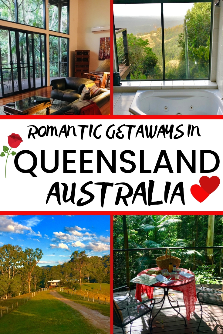 Romantic getaways in Queensland Australia