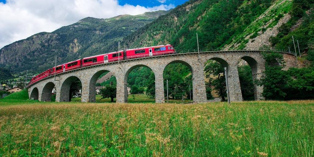 A guide to traveling on the Bernina Express