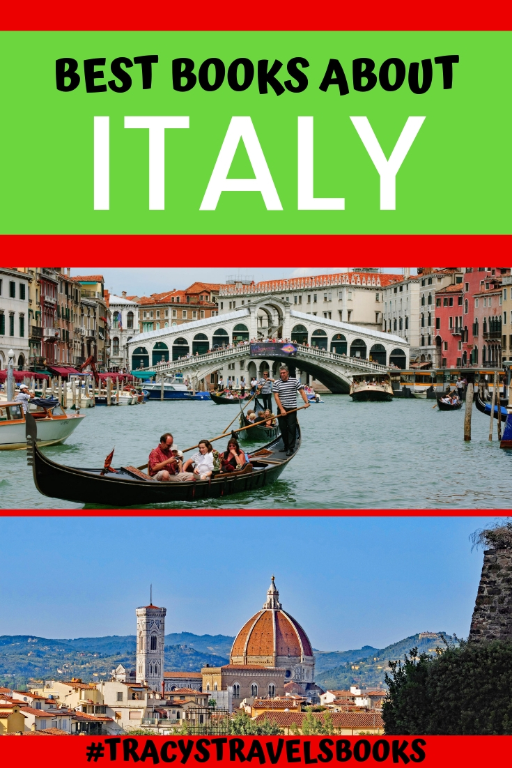 Best books about Italy | Tracy's Travels in Time | Best books about Italy featured by top international travel blogger, Tracy's Travels in Time