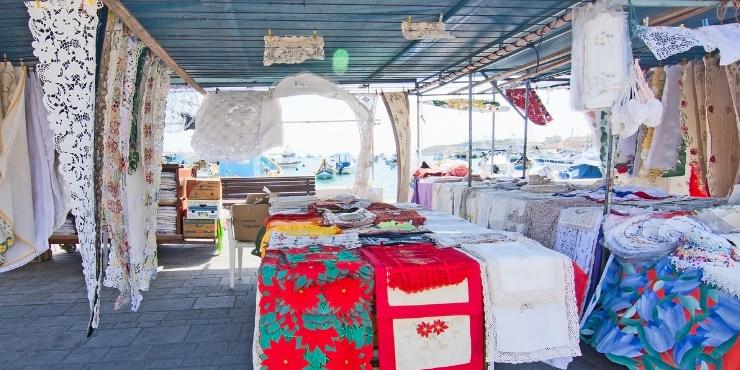 Marsaxlokk market Malta