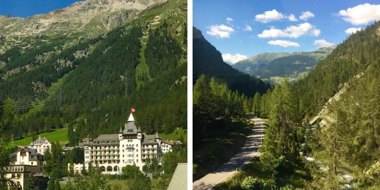 Pontresina and Davos