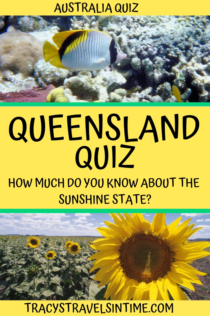 | Queensland Trivia Quiz featured by top Australia blogger, Tracy's Travels in Time