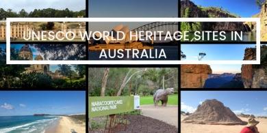AUSTRALIA UNESCO SITES