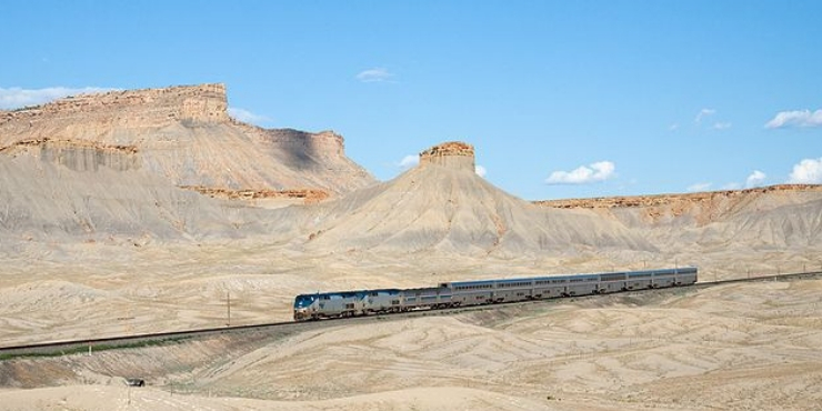 6 Scenic Amtrak Train Trips to Take in the USA, featured by top international travel blogger, Tracy's Travels in Time: California Zephyr in Utah