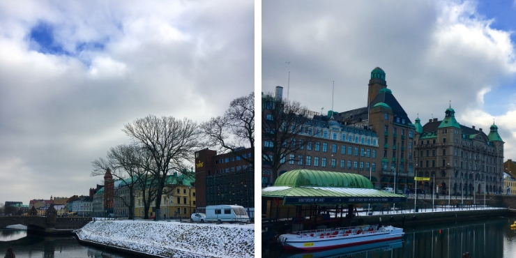 Malmo in winter