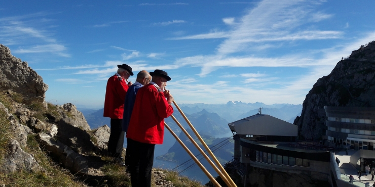 The Best Things to do in Lucerne Switzerland featured by top international travel blogger, Tracy's Travels in Time: Mt Pilatus