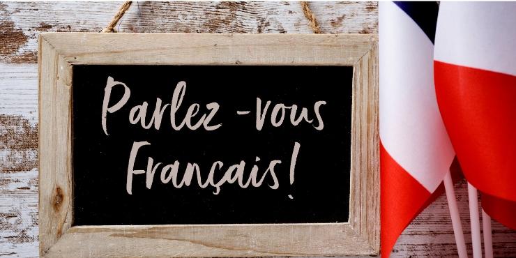 Parlez-vous francais sign