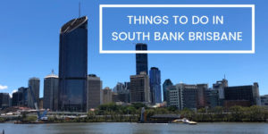 THINGS TO DO IN SOUTH BANK BRISBANE