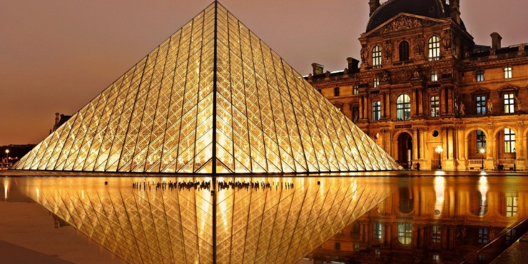 The Louvre a must see when visiting-paris-france-for-the-first-time