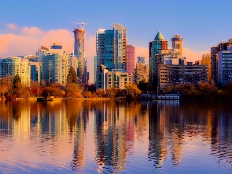 Vancouver in fall