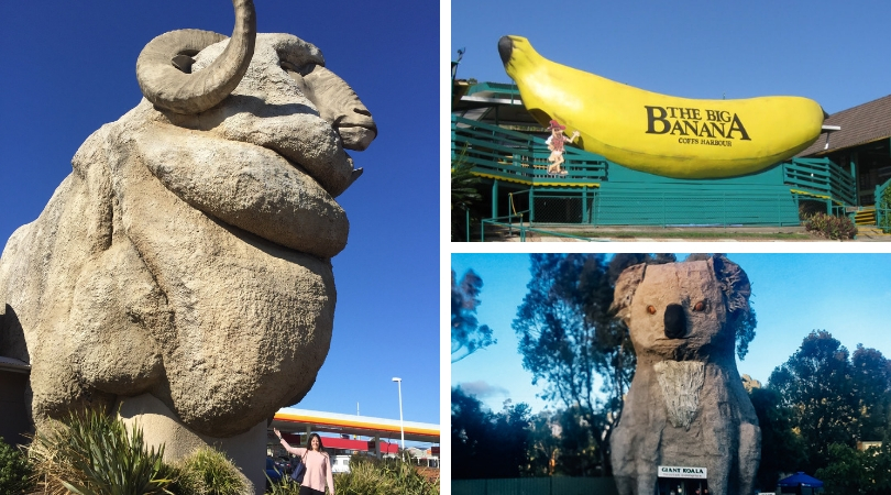 A guide to 10 of Australia's Big Things (+ map)