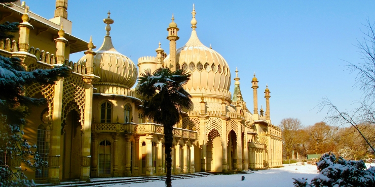 The beautiful Brighton Pavilion