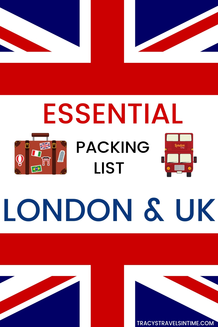 An essential packing list for London and the UK
