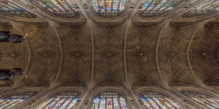 King's College Chapel Ceiling Cambridge