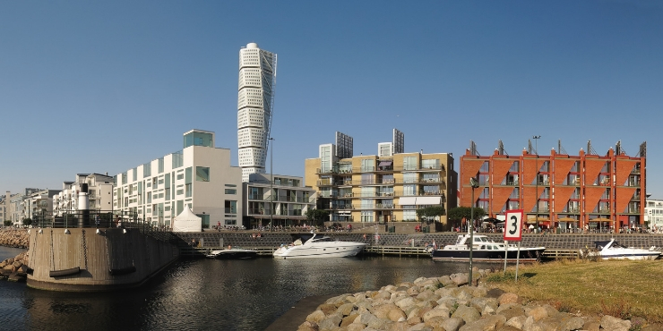 The Turning Torso in Malmo