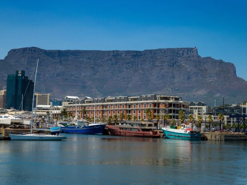 V&A Waterfront in Cape Town South Africa