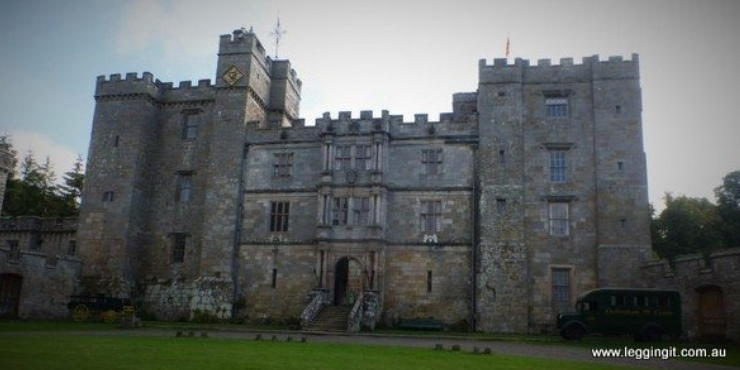 6 of the Best Northumberland Castles to Visit featured by top international travel blogger, Tracy's Travels in Time: image of Chillingham Castle