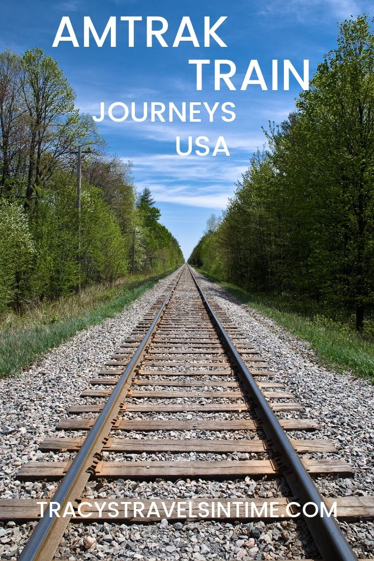 6 Scenic Amtrak Train Trips to Take in the USA, featured by top international travel blogger, Tracy's Travels in Time