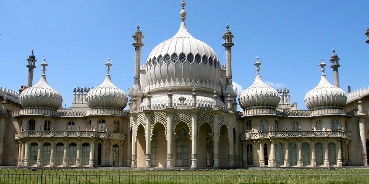 The Brighton Pavilion
