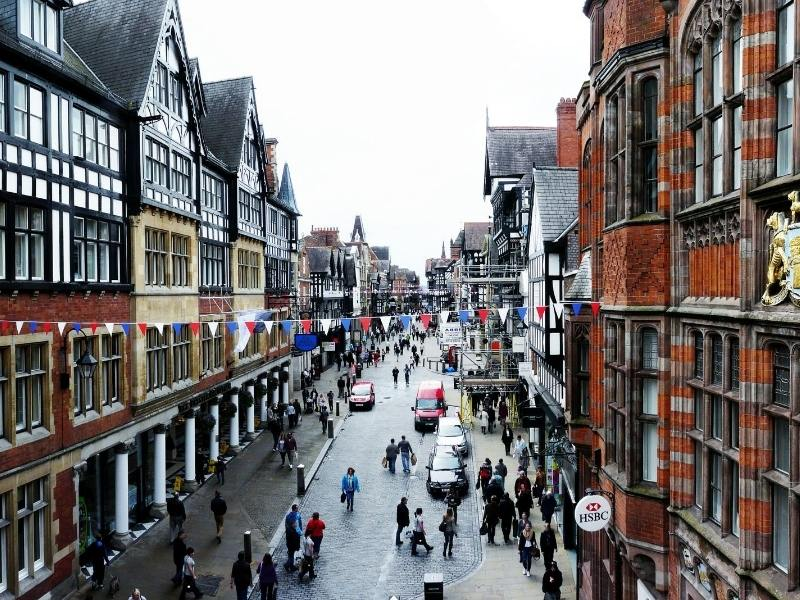 Chester centre of the city