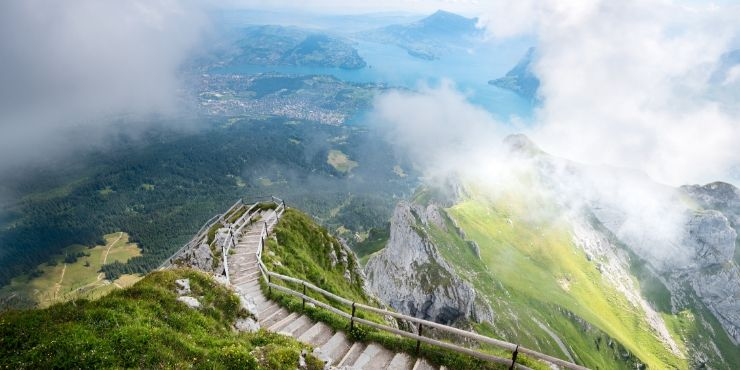 MT PILATUS VIEW FROM THE TOP
