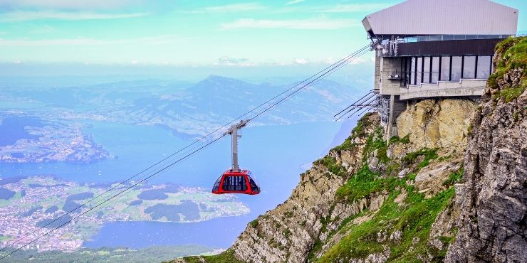 MT PILATUS VIEW - CABLE CAR