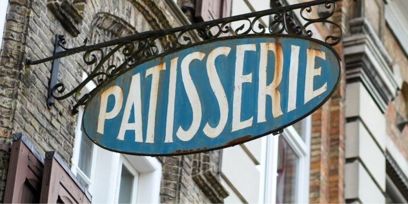 FRENCH SHOPPING VOCABULARY - PATISSERIE SIGN