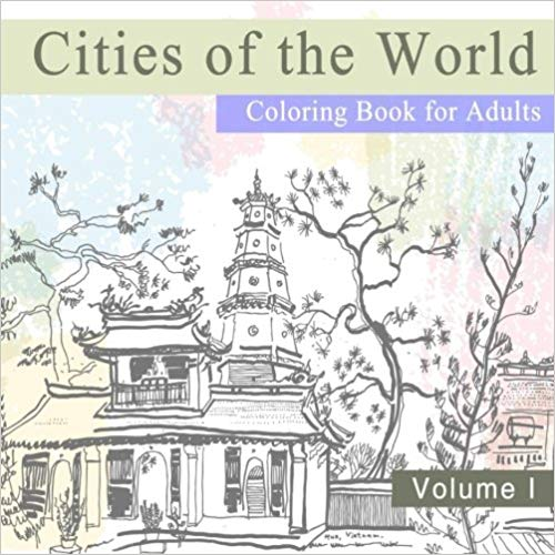 Cities of the World Coloring Book for Adults