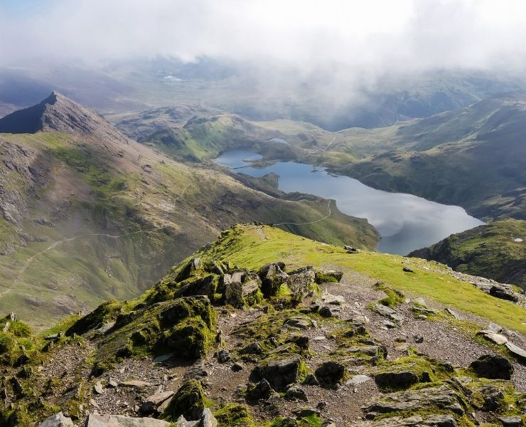 A view of Snowdonia National Park