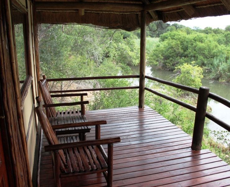 Best games lodges in South Africa featured by top international travel blogger, Tracy's Travels in Time: Klaserie River Safari lodge